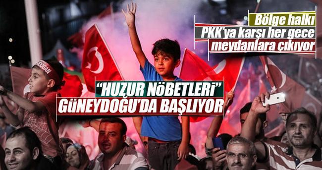 FETÖ'den sonra PKK'ya karşı da nöbet tutulacak!