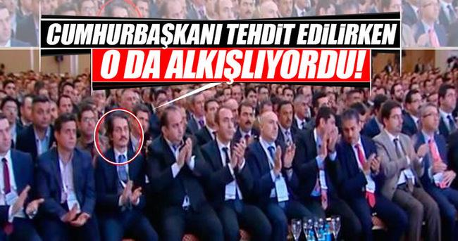 TUSKON'da Cumhurbaşkanı Erdoğan tehdit edilirken o da alkışladı!
