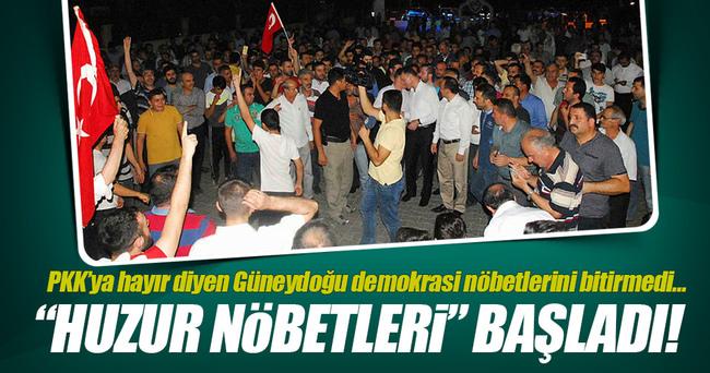 Vatandaşlar 'huzur nöbeti' tutmaya başladı!
