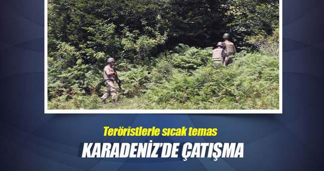 Ordu'da çatışma: 1 terörist öldürüldü