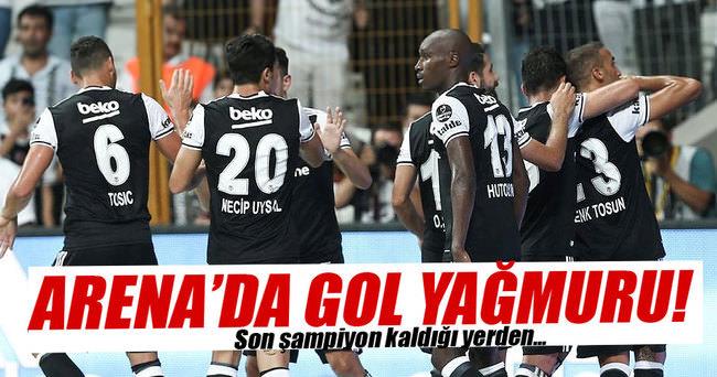 Beşiktaş - Alanyaspor maç sonucu