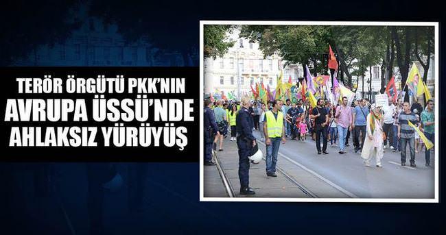 Terör destekçisi ülkede skandal yürüyüş