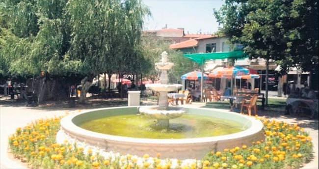 Başkente dekoratif havuzlar