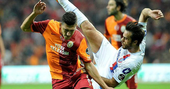 Galatasaray ile Karabükspor 17. randevuda
