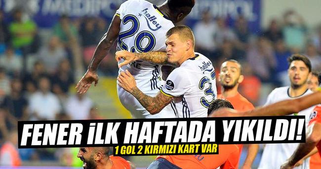 Fenerbahçe - Başakşehir maç sonucu