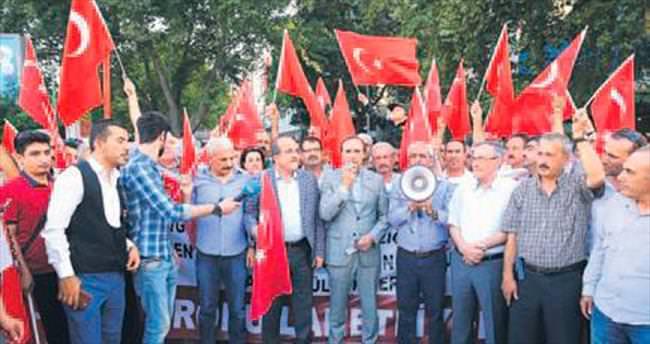Elazığlılardan PKK terörüne tepki