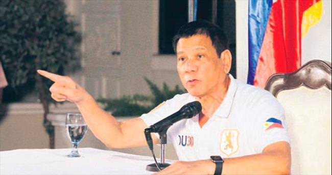 Duterte: BM'den ayrılırız