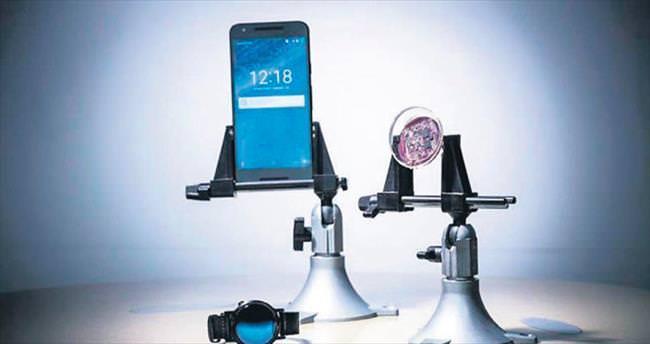 Sağlık bilgilerini telefona aktaran lens geliştirildi