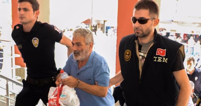Teröristbaşı Gülen'in kuzeni adliyede