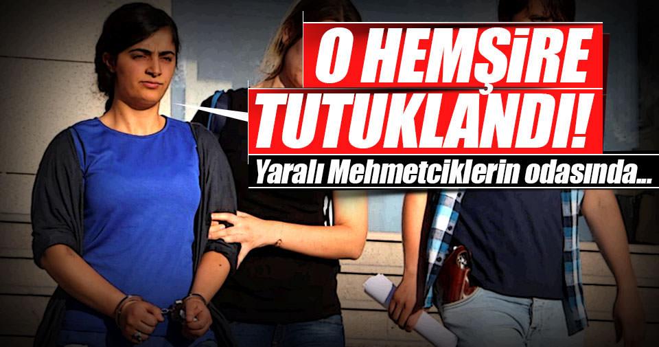 Yaralı askerleri tedavi eden hemşire PKK'lı çıktı