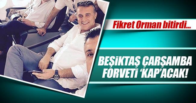 Beşiktaş, Çarşamba günü forveti 'KAP'acak!