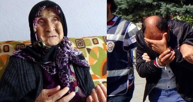89 yaşındaki kadını gasp eden kişi yakalandı!