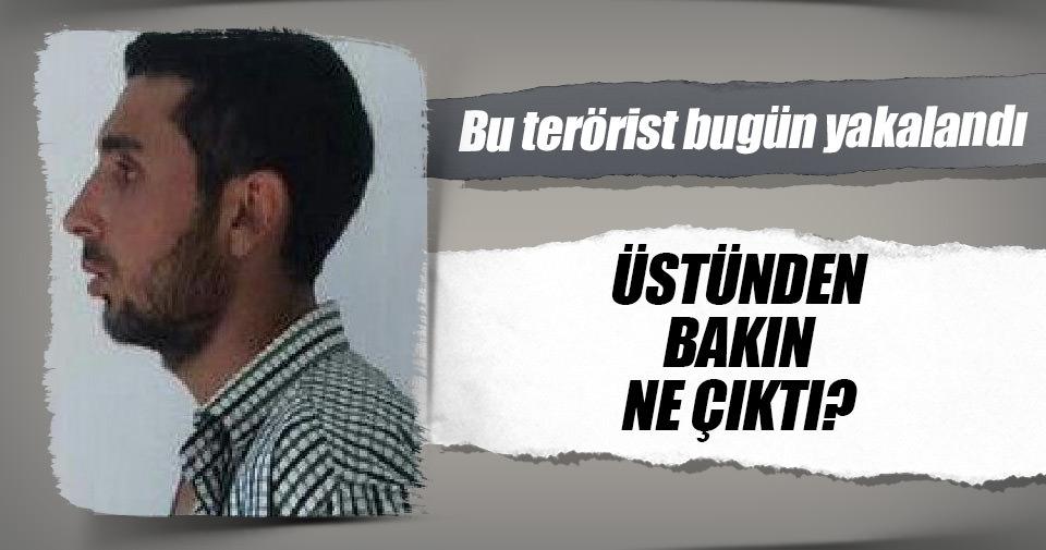 PKK'lı terörist ABD yapımı M-16 ile yakalandı