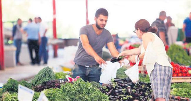 Üretici ve tüketici köylü pazarlarında buluşuyor