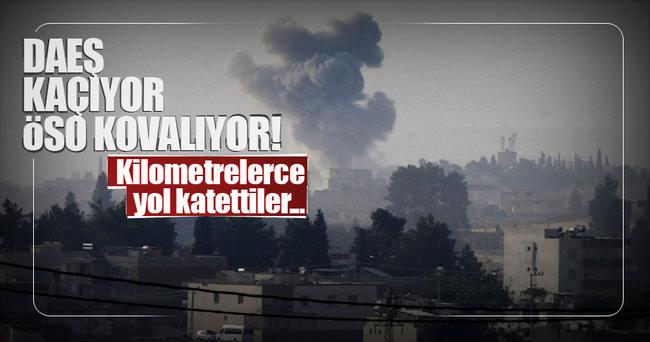 ÖSO birlikleri Suriye sınırından 3 kilometre içeriye girdi!