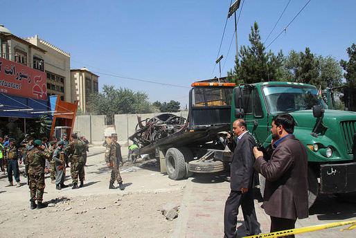 Kabil'de bombalı saldırı!