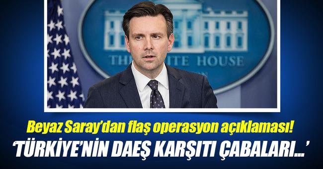 Beyaz Saray'dan Cerablus açıklaması!