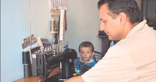 Terzilik yapan Suriyeli doktora İzmir kucak açtı