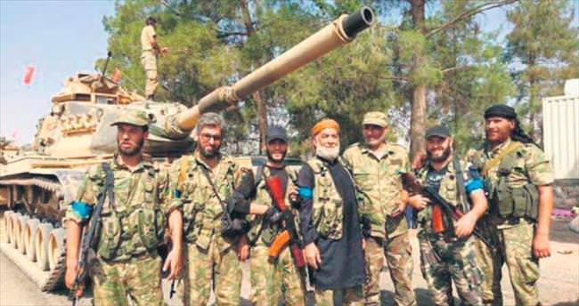 Kırmızı bant Arap mavi bant Türkmen