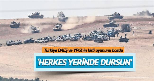 Çifte hedef: DAEŞ ve YPG'nin koridor oyunu