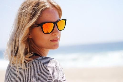 Güneş gözlüğünüz yoksa…