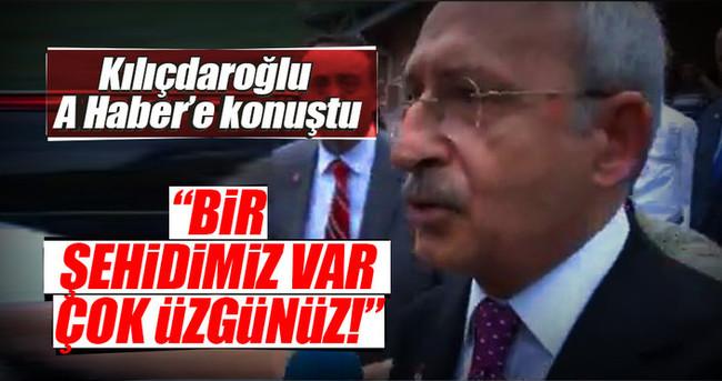 Kılıçdaroğlu AHaber'e konuştu