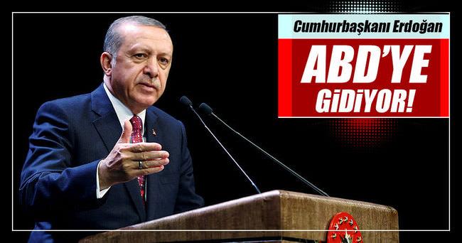 Erdoğan ABD'ye gidiyor!