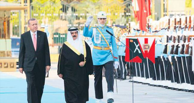 Cumhurbaşkanı Erdoğan Bahreyn Kralı ile görüştü