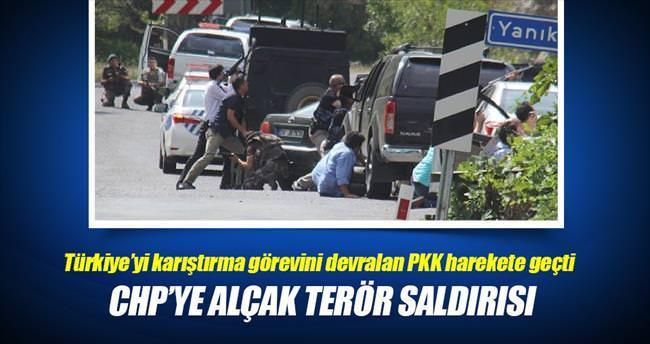 CHP'ye alçak terör saldırısı