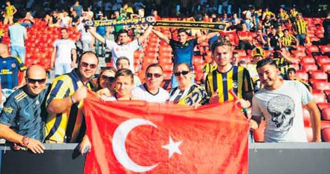 Tribünlerde Türkiye profili!