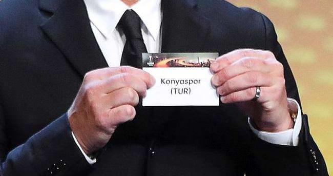 İşte Konyaspor'un Avrupa Ligi fikstürü