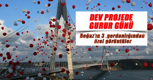 Türkiye'nin gurur projesi açıldı