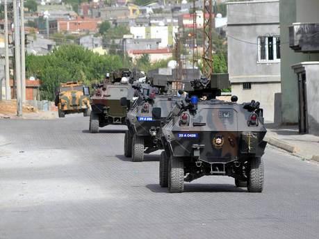 Sur'daki sokağa çıkma yasağı kaldırılıyor