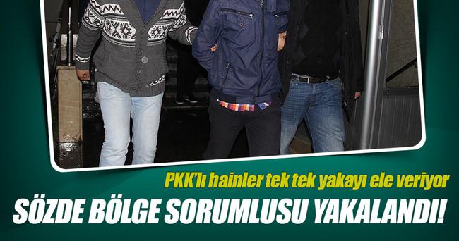 PKK'nın sözde 'bölge sorumlusu' yakalandı!