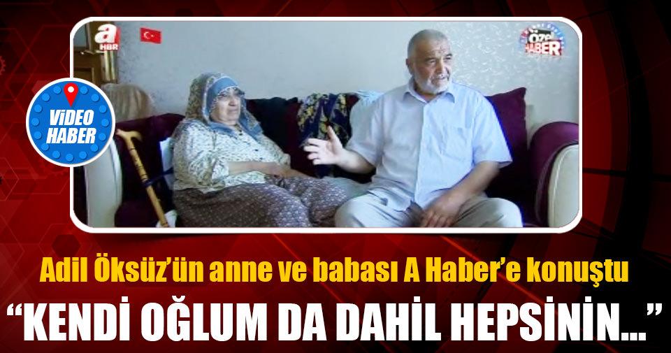 Anne ve babası Adil &Öks&üz'&ü anlattı!