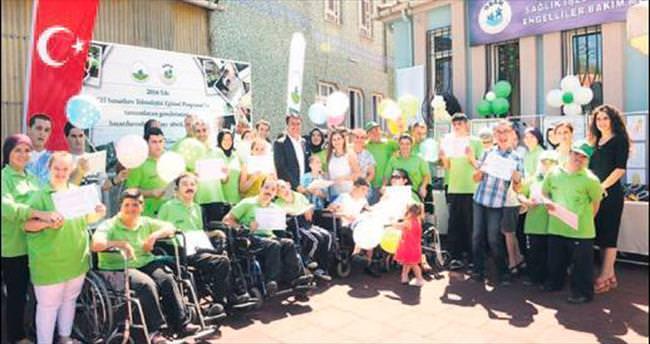 OBAM'dan engellilere yönelik örnek proje