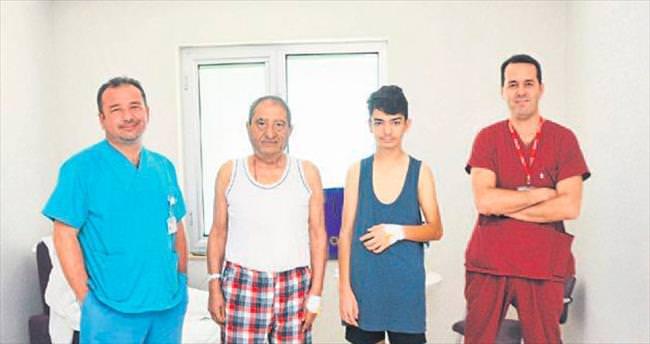 Ameliyat olmaya Tarsus'a geldiler