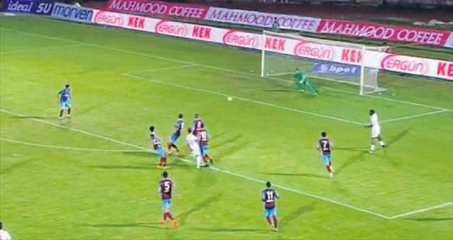 Röportaja Trabzon formasıyla çıktı