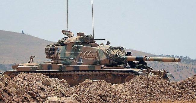Cerablus'ta tanka roketli saldırı: 1 şehit