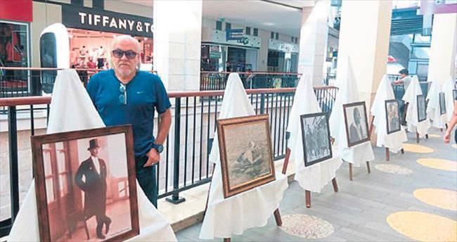 Atatürk fotoğrafları Mersin Forum AVM'de
