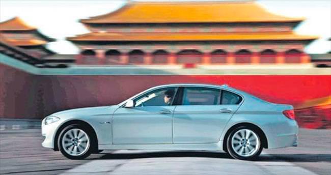 Çinlilerin otomobil sevdası