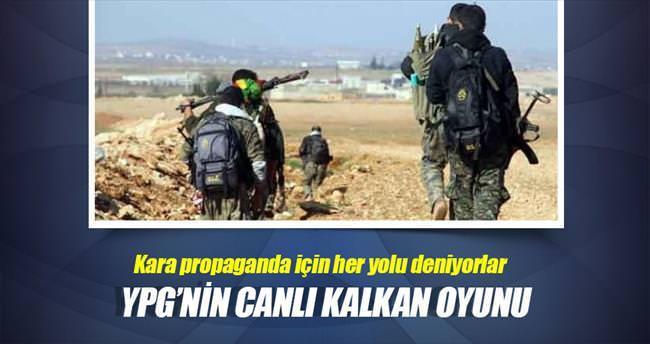 YPG'nin 'canlı kalkan' oyunu