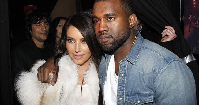 Kim Kardashian eşi Kanye West'i çileden çıkardı