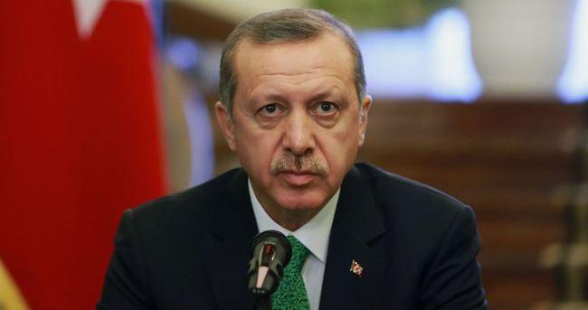 Cumhurbaşkanı Erdoğan'dan şehit ailelerine telgraf