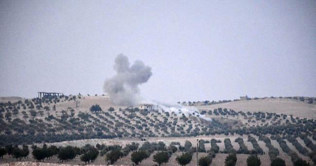 Suriye'de 20 hedef vuruldu