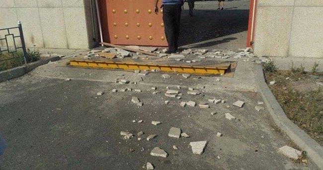 Kırgızistan'daki Çin Büyükelçiliği'nde patlama