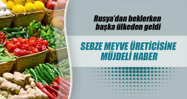 Türk sebzesine Hac talebi