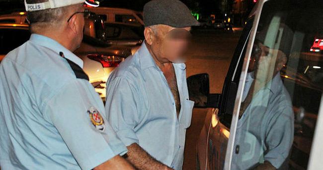 70 yaşındaki 'tacizci' gözaltına alındı