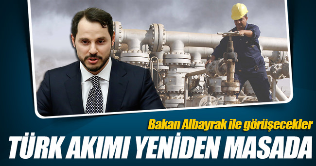 Gazprom heyeti İstanbul'da