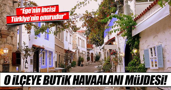 Türkiye'nin ünlü tatil merkezine havaalanı müjdesi